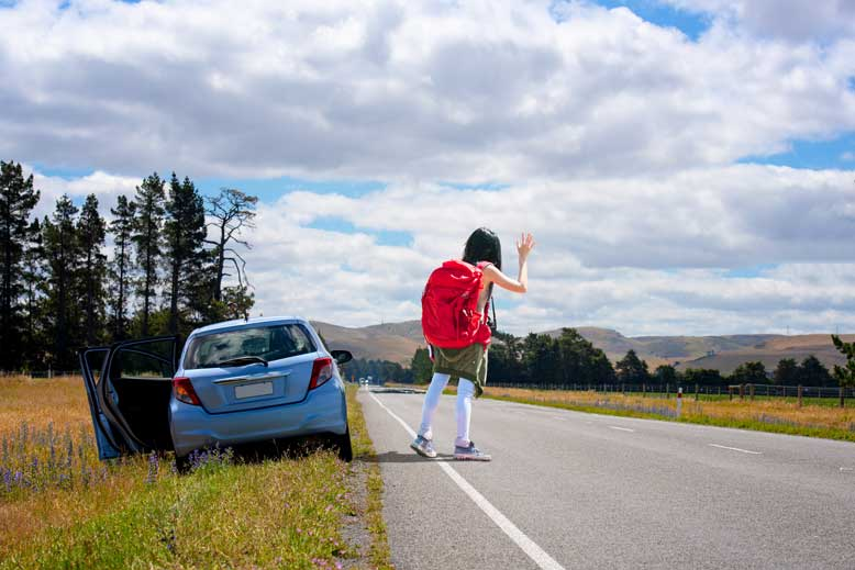 3 Safe Places to Wait for Roadside Assistance